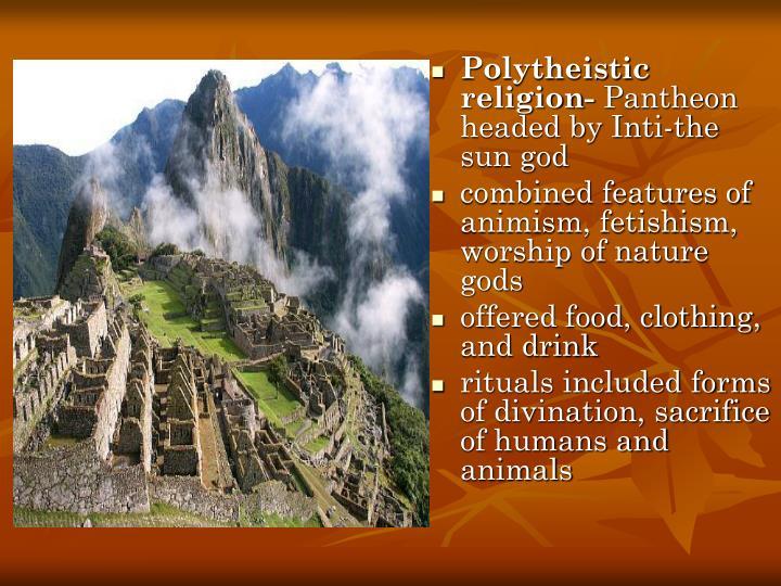 Polytheistic religion-