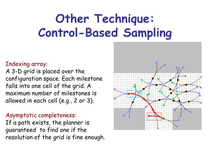 Other Technique: