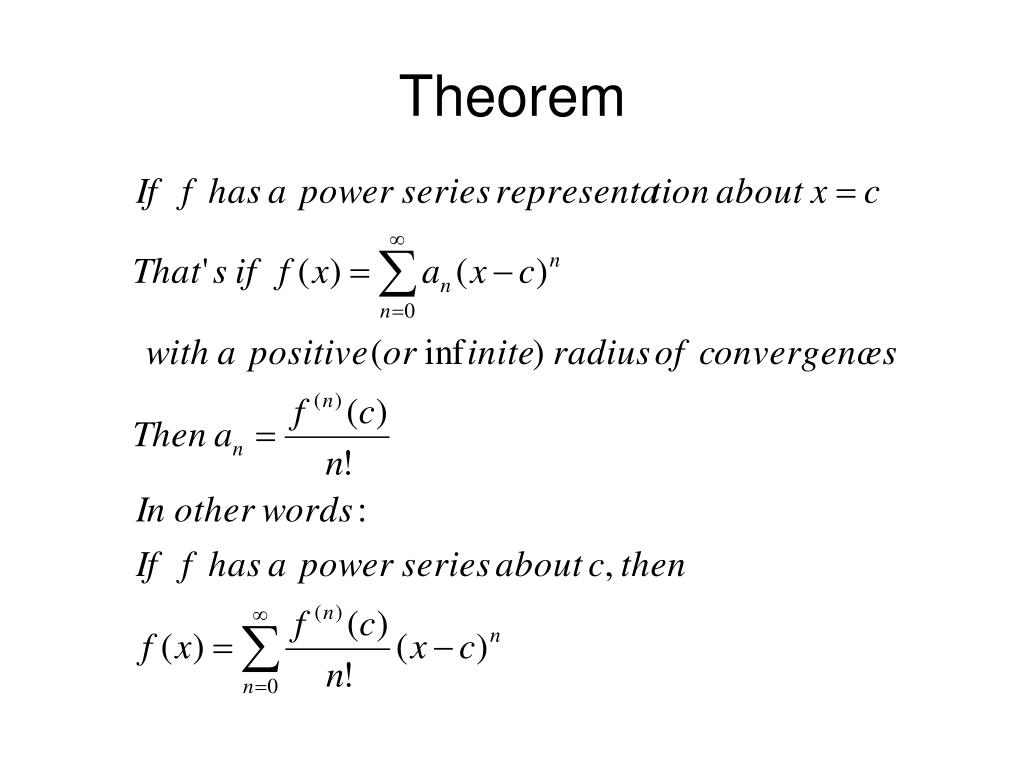 PPT - Taylor Series PowerPoint Presentation - ID:3998453