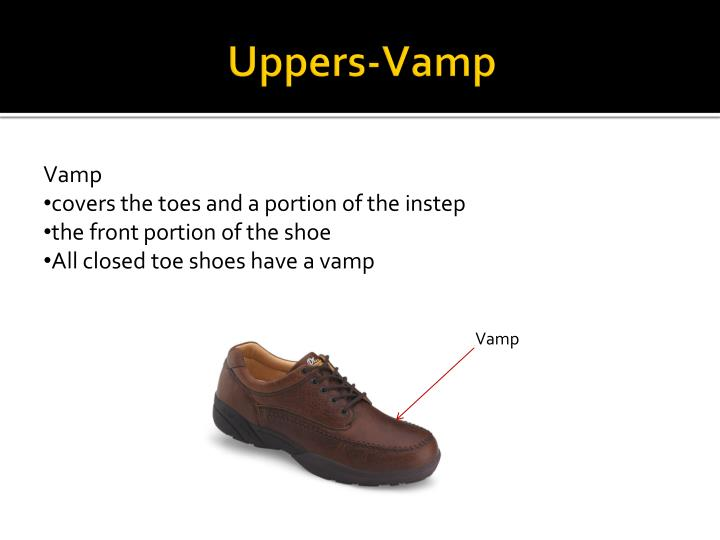 Uppers-Vamp
