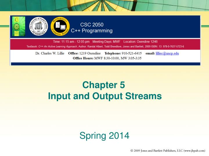 chapter 5 input and output streams n.