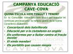 campanya educaci cave cova1