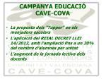 campanya educaci cave cova3