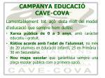 campanya educaci cave cova6