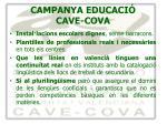 campanya educaci cave cova7