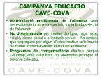 campanya educaci cave cova8