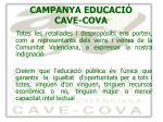 campanya educaci cave cova9