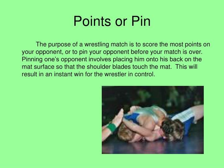 Points or Pin