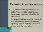 the leader si and neuroscience2