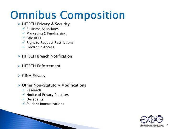 Omnibus composition