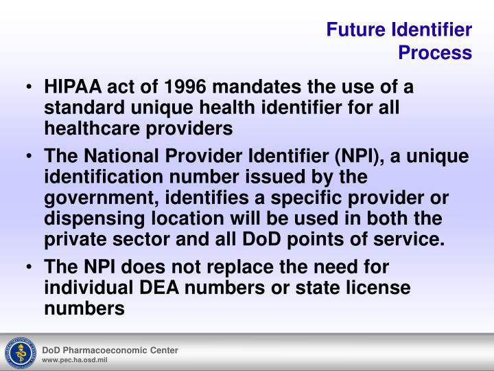 Future Identifier
