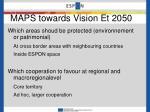 maps towards vision et 2050