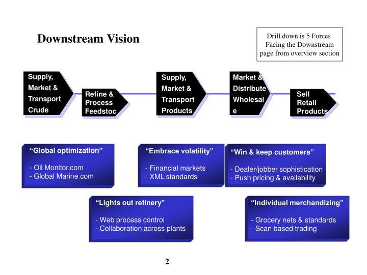 Downstream vision