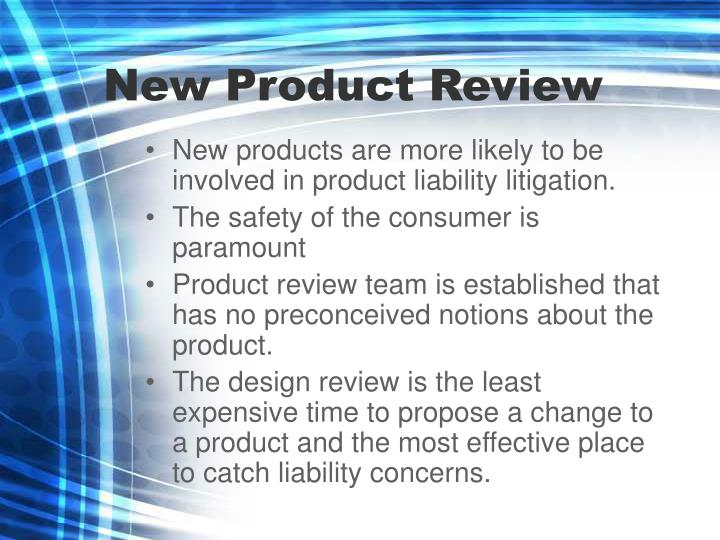 New Product Review
