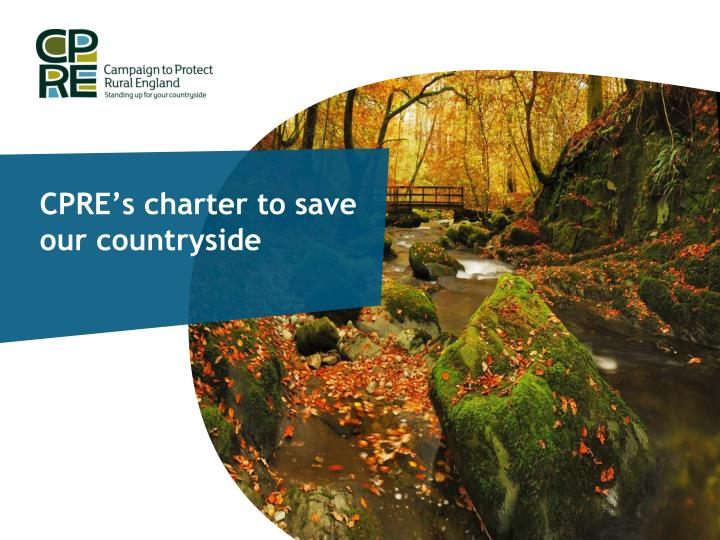 cpre s charter to save our countryside n.