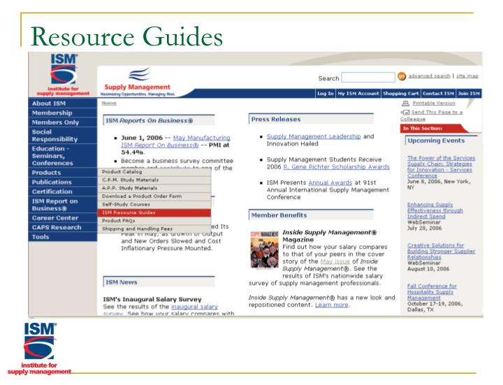 Resource Guides