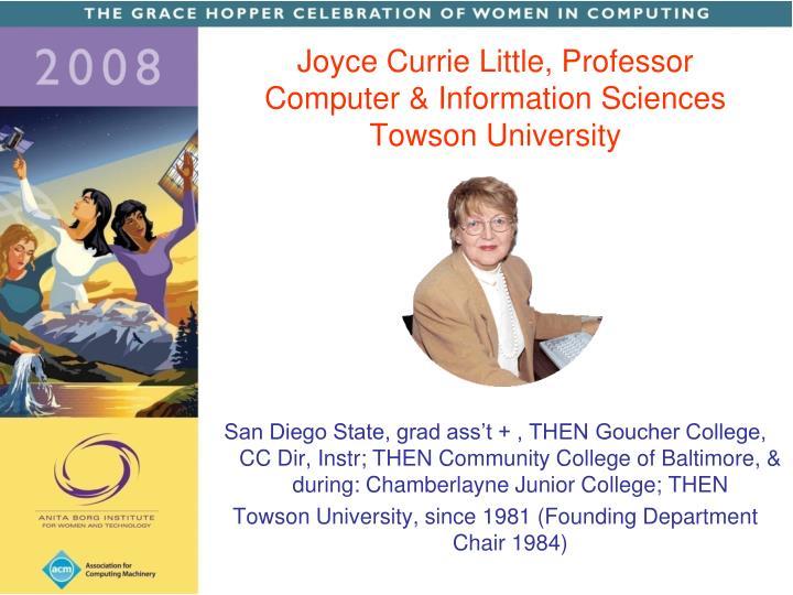 San Diego State, grad ass't + , THEN Goucher College, CC Dir, Instr; THEN Community College of Baltimore, & during: Chamberlayne Junior College; THEN