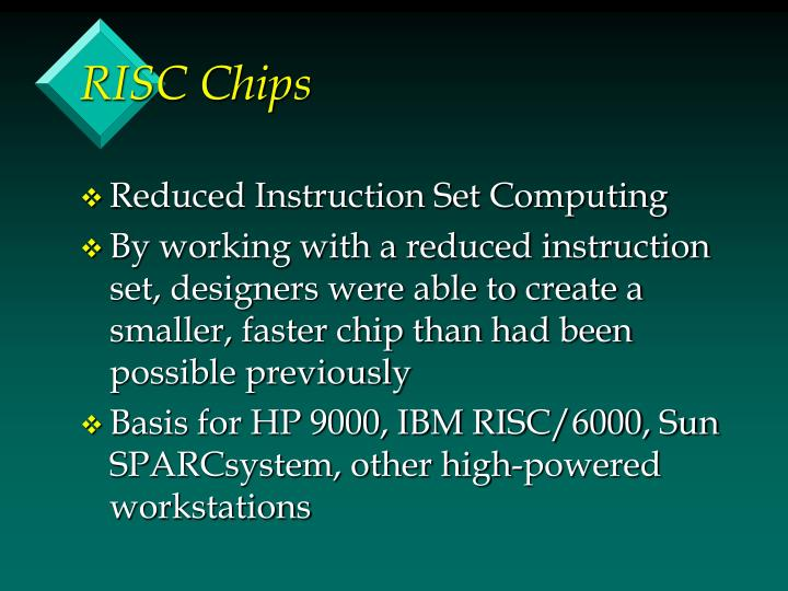 RISC Chips