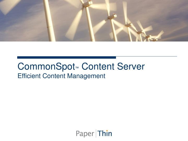 CommonSpot