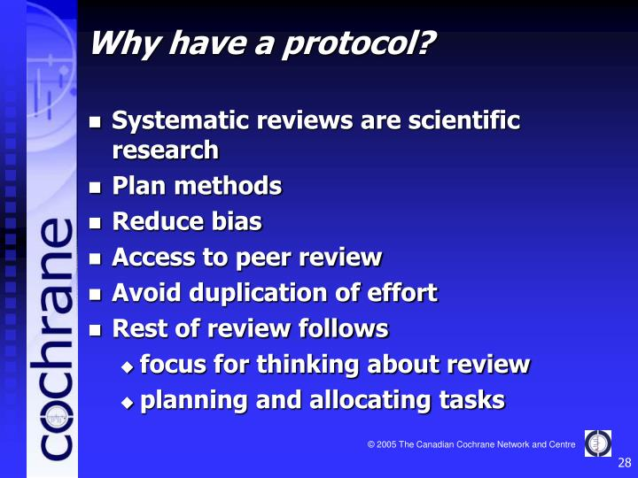 Systematic reviews are scientific research