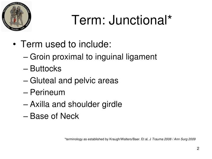 Term junctional