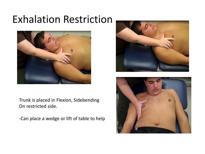 Exhalation Restriction