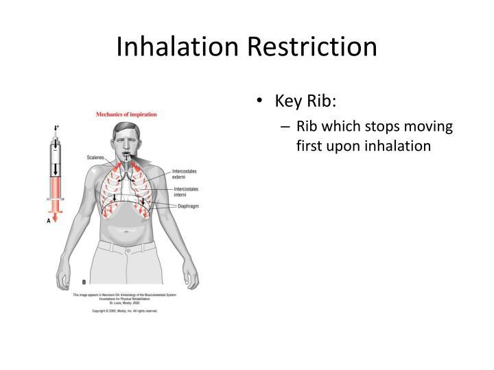 Inhalation Restriction