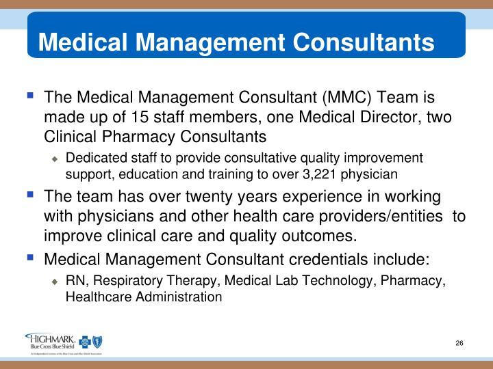 Medical Management Consultants
