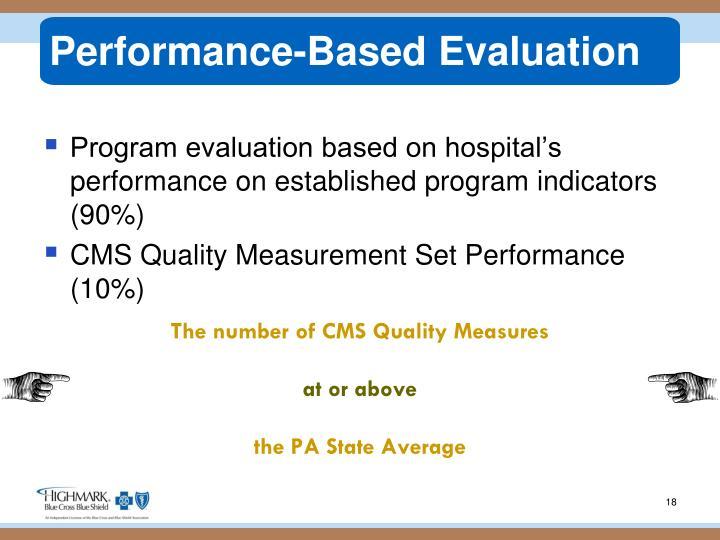 Performance-Based Evaluation