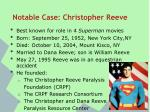 notable case christopher reeve