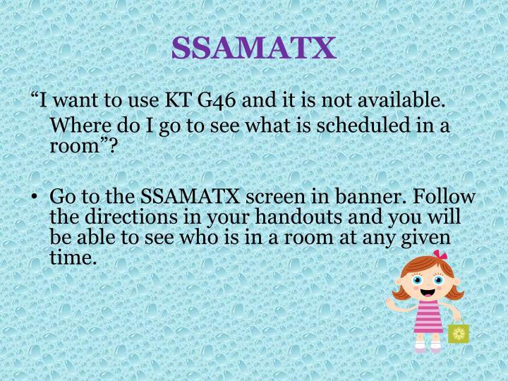 SSAMATX