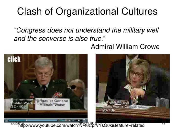 Clash of Organizational Cultures