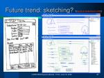 future trend sketching
