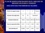 plan de inspecci n basado en el an lisis de riesgos aplicado a tanques8