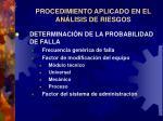 procedimiento aplicado en el an lisis de riesgos14