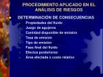 procedimiento aplicado en el an lisis de riesgos3