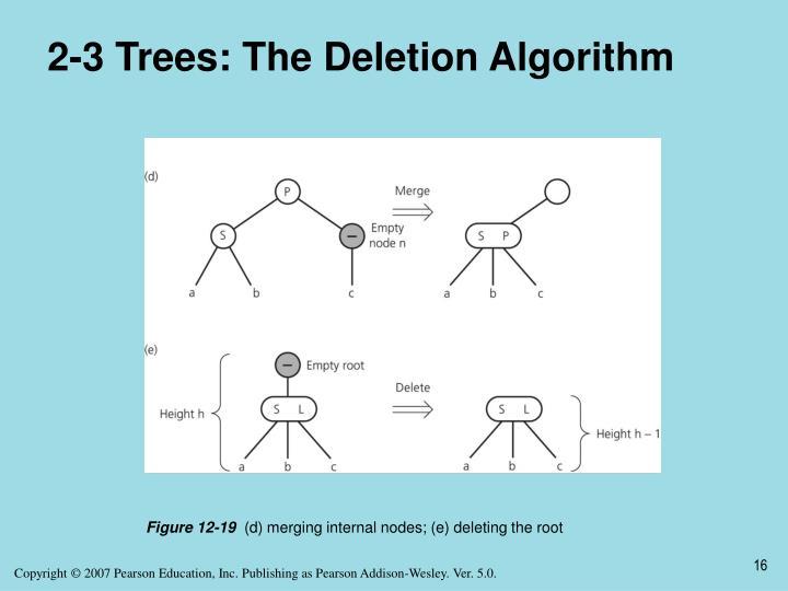 2-3 Trees: The Deletion Algorithm