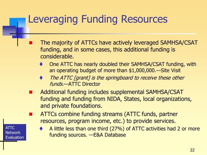 Leveraging Funding Resources