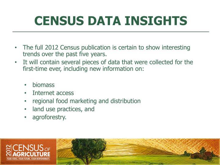 CENSUS DATA INSIGHTS