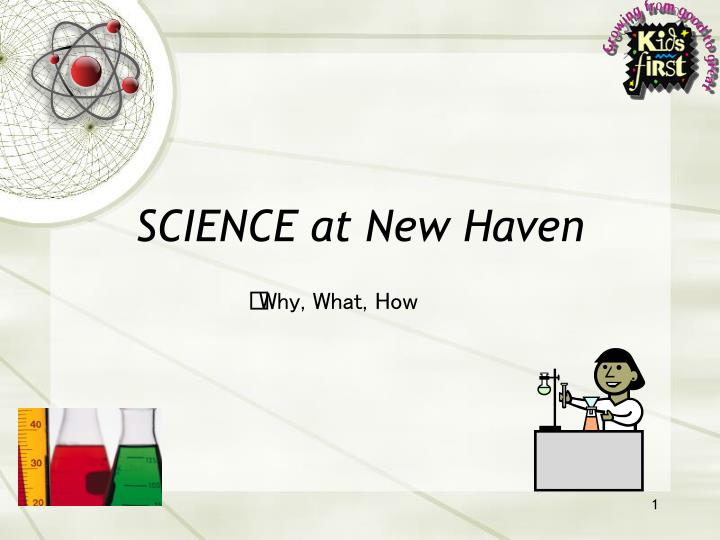 science at new haven n.