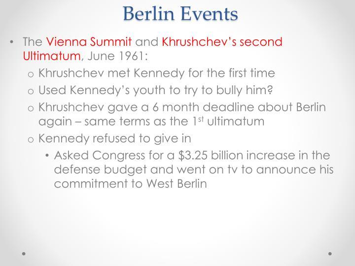 Berlin Events