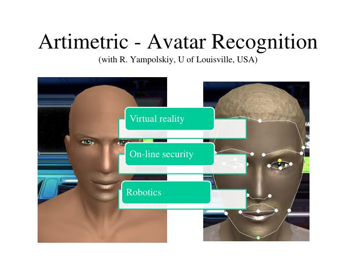Artimetric - Avatar Recognition