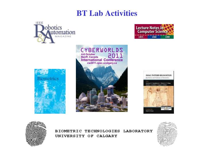 Bt lab activities
