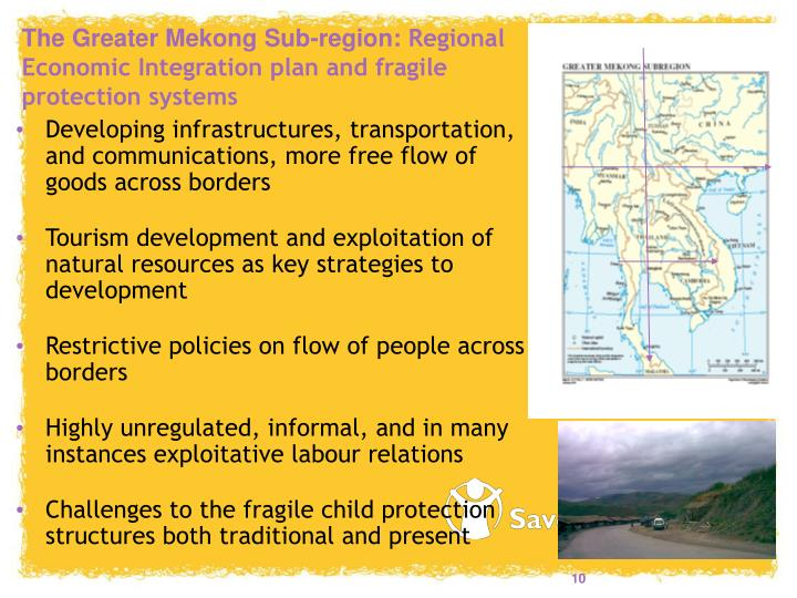 The Greater Mekong Sub-region: