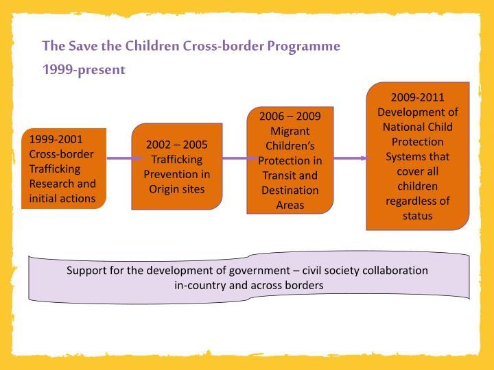 The Save the Children Cross-border Programme