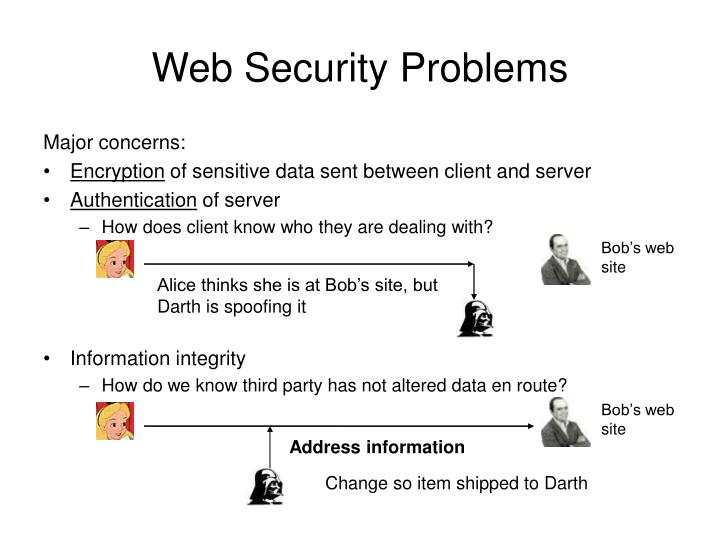 Web security problems