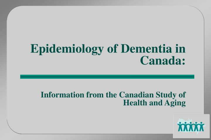 Canadian Study of Health and Aging Clinical Frailty Scale ...