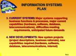 information systems plan1