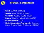 hfsole components
