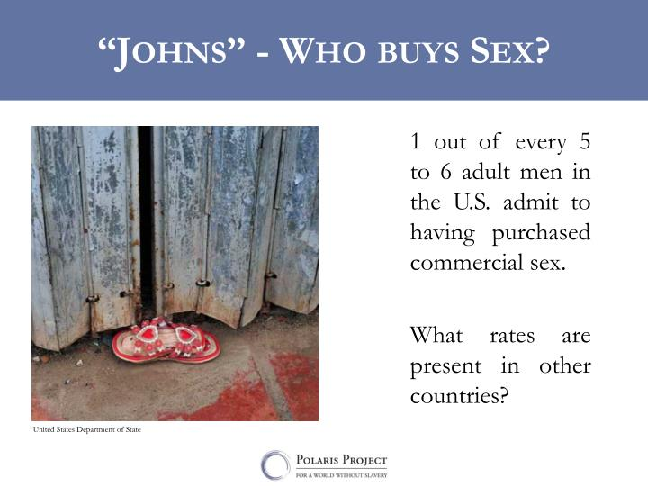 """""""Johns"""" - Who buys Sex?"""